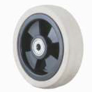 Grey Rubber Wheel with Nylon Core